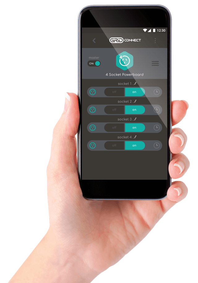 Grid Connect, the easy-to-use home automation app